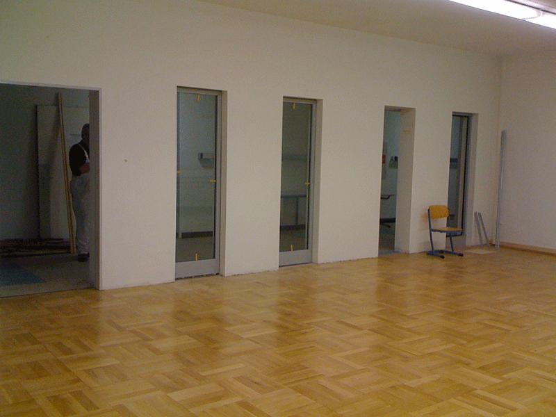 Schulmensa nach dem Umbau