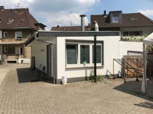 Küche-Gewerbe-Neubau, ähnlich einer Garage