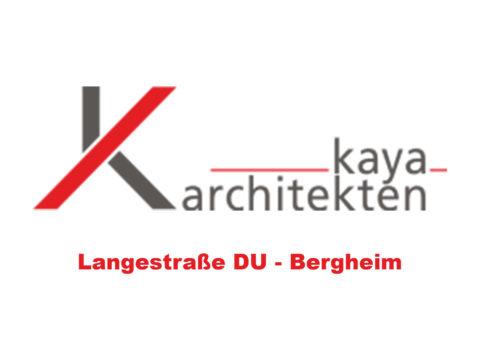 Logo Kaya Architekten: Langestraße DU-Bergheim